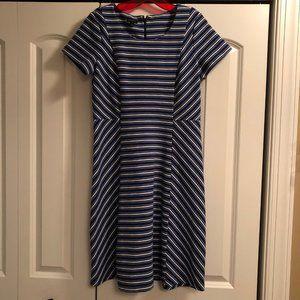 Talbots Striped T-Shirt Dress